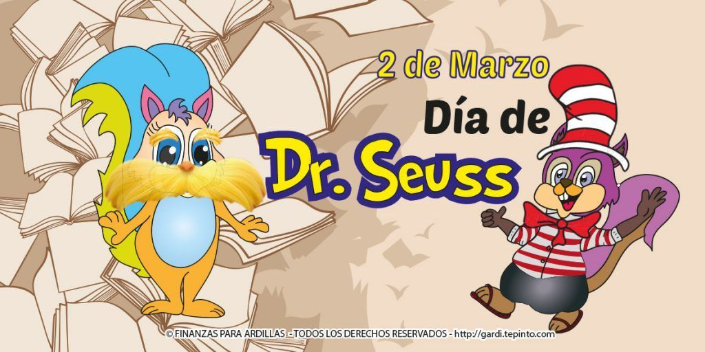 Dr. Seuss Day! Let´s read and learn!