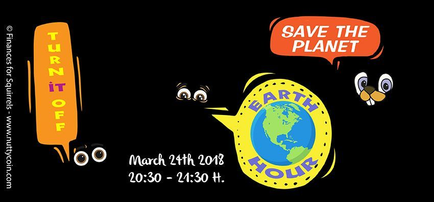 Earth Hour: turn off the lights